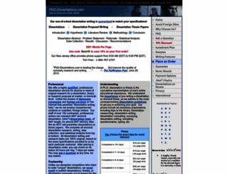 phd-dissertations.com screenshot