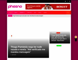 pheeno.com.br screenshot