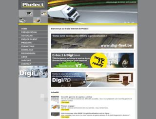 phelect.be screenshot