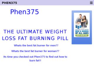 phen375-reviewer.com screenshot