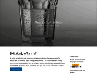 phenobarbital.wordpress.com screenshot