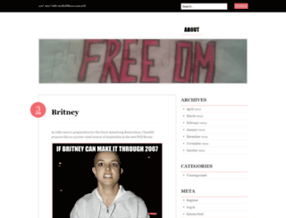 phfreedom.wordpress.com screenshot