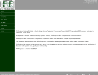 phgroup.co.za screenshot