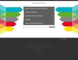 phil-vacation.com screenshot