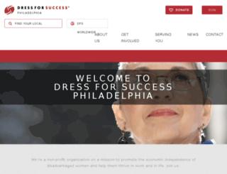 philadelphia.dressforsuccess.org screenshot