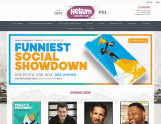 philadelphia.heliumcomedy.com screenshot