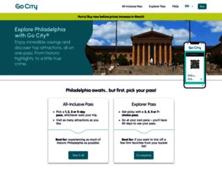 philadelphiapass.com screenshot