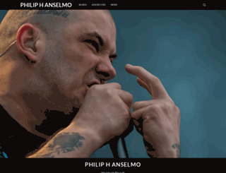 philanselmo.com screenshot