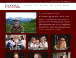 philcantor.com screenshot