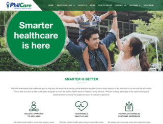 philcare.com.ph screenshot