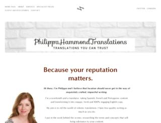 philippahammond.net screenshot