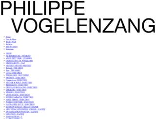 philippevogelenzang.com screenshot
