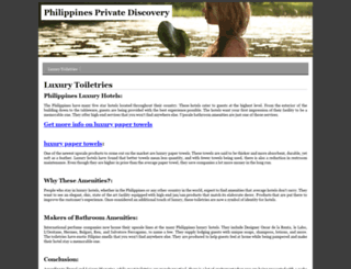 philippines-private-discovery.com screenshot