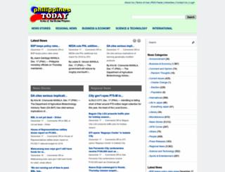 philippinestoday.net screenshot
