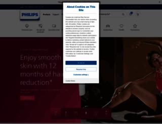 philips.com.au screenshot