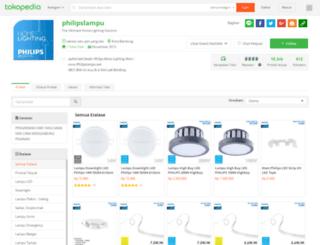 philipslampu.com screenshot
