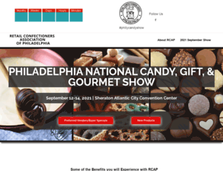 phillycandyshows.com screenshot