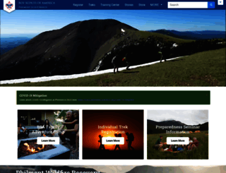 philmontscoutranch.org screenshot