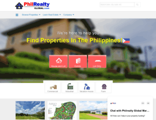philrealty-showroom.com screenshot