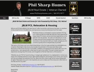 philsharphomes.com screenshot