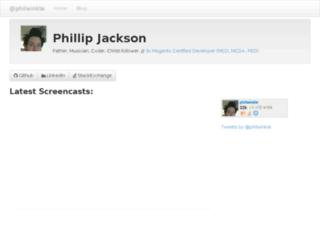 philwinkle.com screenshot