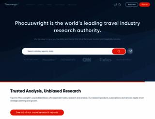 phocuswright.com screenshot