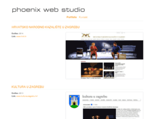 phoenix-web-studio.com screenshot