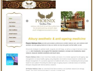 phoenixcosmetics.com.au screenshot