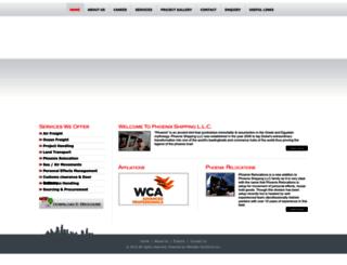 phoenixdxb.com screenshot