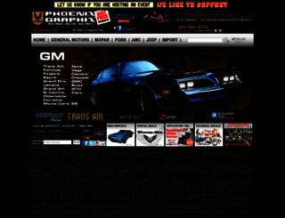phoenixgraphix.com screenshot
