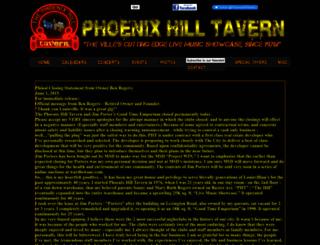 phoenixhill.com screenshot