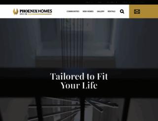 phoenixhomes.ca screenshot