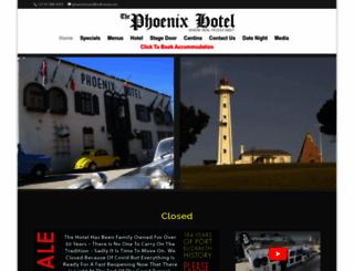 phoenixhotel.co.za screenshot