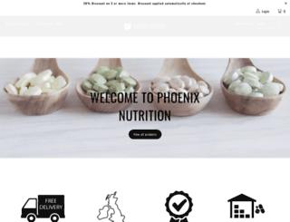 phoenixnutrition.com screenshot