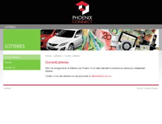 phoenixsoc.org.au screenshot