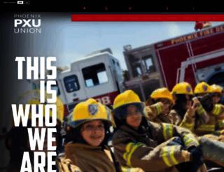 phoenixunion.org screenshot