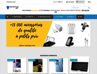 phone-boutique.com screenshot