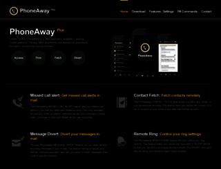 phoneaway.in screenshot