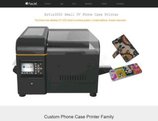 phonecaseprinter.com screenshot