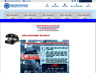 phongkhamdakhoa3thang2.com screenshot