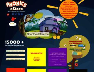 phonicsestore.com screenshot
