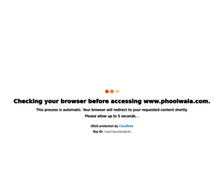 phoolwala.com screenshot