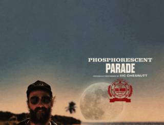 phosphorescentmusic.com screenshot