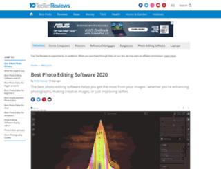 photo-editing-software-review.toptenreviews.com screenshot
