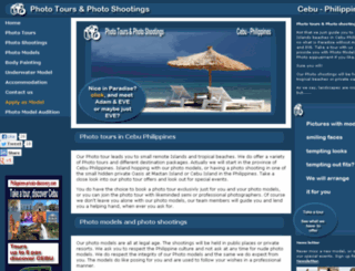 photo-model-tours.com screenshot