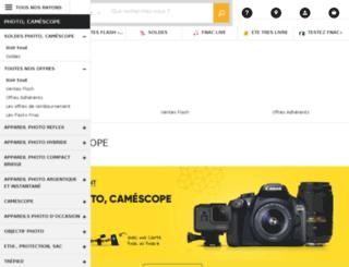 photo.fnac.com screenshot