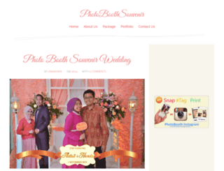 photoboothsouvenir.com screenshot