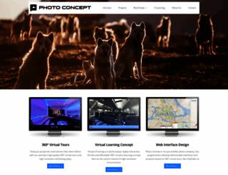 photoconcept.se screenshot