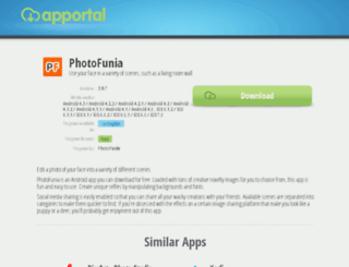 photofunia.apportal.co screenshot