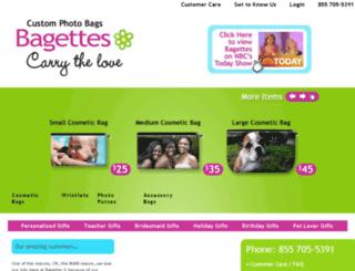 photogiftsbybagettes.com screenshot